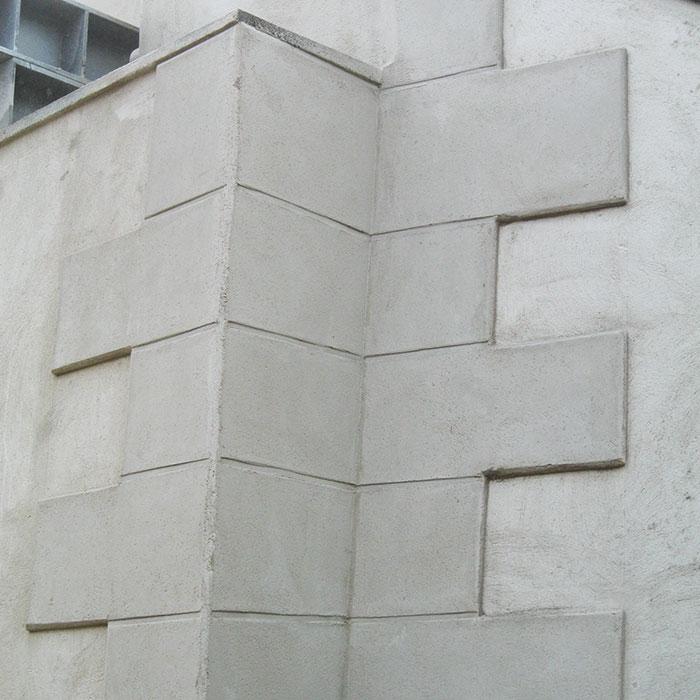 Nachher – Durch fachgemäße Reprofilierung wurde der Sollzustand der Betonflächen wiederhergestellt.